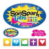 VBS 2015 SonSpark Labs - Iron-On T-Shirt Transfer, Pack of 10