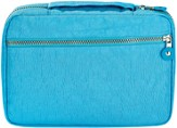 Crinkle Nylon Spine Handle Bible Cover, Blue, Extra Large