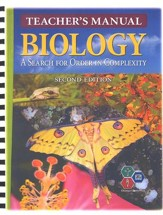 Biology Teacher's Manual, 2nd Edition, Grades 10-12