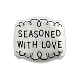 Seasoned With Love Pewter Magnet