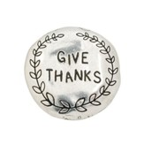 Give Thanks Pewter Magnet
