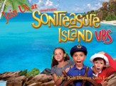 VBS 2014 SonTreasure Island- Outdoor Banner: Actual Size 4'x  3'