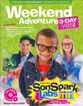 VBS 2015 SonSpark Labs - Weekend Adventure 3-Day VBS (Reproducible CD-ROM Included)