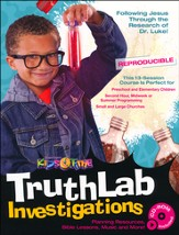 TruthLab Investigation 13-Lesson After VBS Program w/CD-ROM (Reproducible)