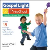 Preschool - Kindergarten Music CD, Fall 2017 - Summer 2018 Year A