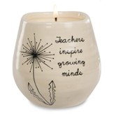 Teachers Inspire Growing Minds Candle