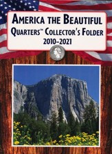 America the Beautiful QuartersCollector's Folder  2010-2021