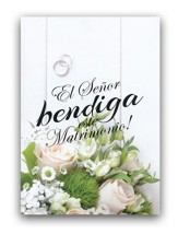 Matrimonio, tarjeta (Numeros 6:24)  Marriage, card (Numbers 6:24)