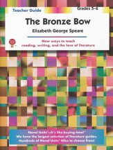 The Bronze Bow, Novel Units Teacher's Guide, Grades 5-6