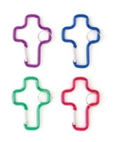 Cross Clip Key Ring, Pack of 12