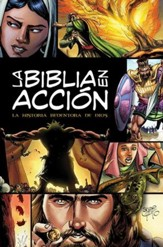 La Biblia en acción, enc. rústica  (The Action Bible, Hardcover)