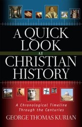 A Quick Look at Christian History: A Chronological Timeline Through the Centuries - eBook