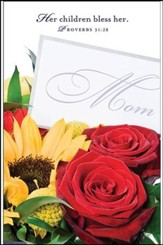 Flowers Mother's Day Bulletins (Package of 50)