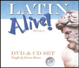 Latin Alive! Book Two DVD & CD Set  - Slightly Imperfect