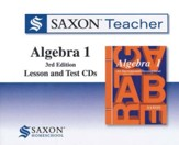 Saxon Teacher for Algebra 1, Third Edition on CD-ROM