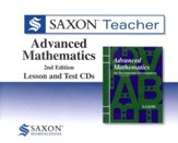 Saxon Teacher for Advanced Mathematics, 2nd Edition on CD-ROM