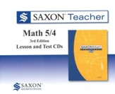 Saxon Teacher for Math 5/4, 3rd  Edition on CD-Rom