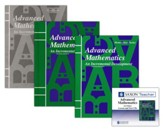 Saxon Advanced Mathematics Homeschool Kit & Saxon Teacher CD-ROMs, Second Edition