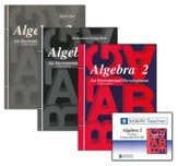 Saxon Algebra 2 Homeschool Kit &  Saxon Teacher CD-ROMs, Third Edition