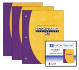 Saxon Math 8/7 Homeschool Kit & Saxon Teacher CD-ROMs, Third Edition