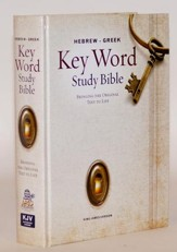 Key Word Study Bible KJV, Hardcover