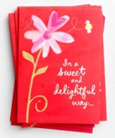 Sweet & Delightful Way Packaged Valentine Cards
