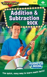 Addition & Subtraction Rock CD & Activity Book