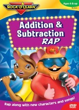 Addition & Subtraction Rap CD & Book