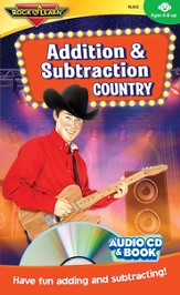 Addition & Subtraction Country CD & Activity Book