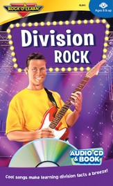Division Rock CD & Activity Book
