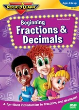 Beginning Fractions & Decimals DVD