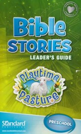 Bible Blast to the Past VBS 2015: Bible Stories Leader's Guide: Preschool  (Playtime Pasture)