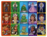 SonWorld Adventure Character Stickers, package of 150