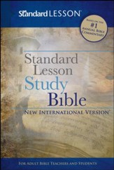 NIV Standard Lesson Study Bible, hardcover