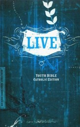 NRSV LIVE Bible for Teens, Catholic Edition  - Slightly Imperfect
