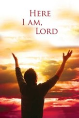 Here I Am, Lord Hymn Bulletin, Regular (Package of 50)