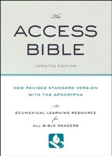 NRSV Access Bible with the Apocrypha, Updated Edition - Slightly Imperfect