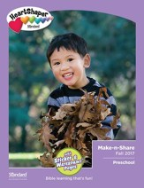 HeartShaper: Preschool Make-n-Share, Fall 2017