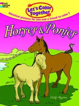 Let's Color Together - Horses and Ponies