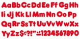 4 Casual Combo Red Ready Letters Pack