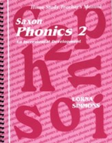 Saxon Phonics 2, Teacher's Manual