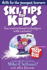 Ski Tips for Kids: Fun Instructional Techniques with Cartoons