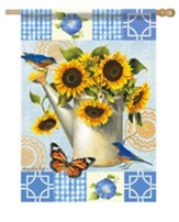 Sunflower Garden Flag, Large
