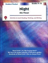 Night, Novel Units Student Packet,  Grades 9-12