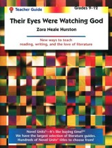 Their Eyes Were Watching God, Novel Units Teacher's Gd, Gr. 9-12