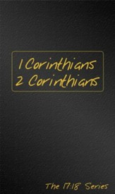 Journible, The 17:18 Series: 1 & 2 Corinthians