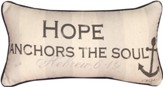 Hope Anchors the Soul Pillow