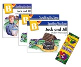 Spelling You See Level B: Jack and  Jill Universal Set