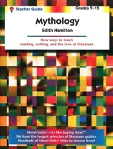 Mythology, Novel Units Teacher's  Guide, Grades 9-12