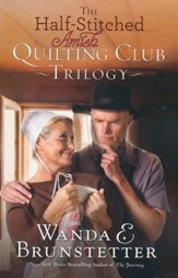 The Half-Stitched Amish Quilting Club Trilogy - eBook